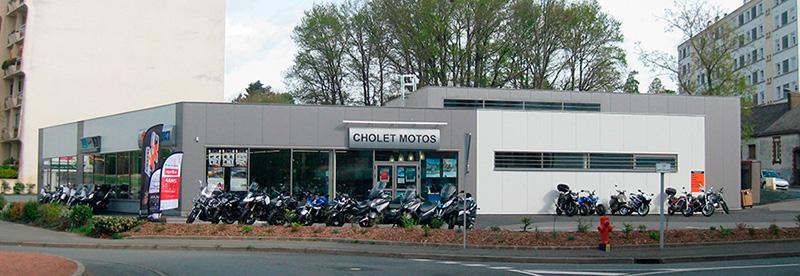 magasin de moto cholet